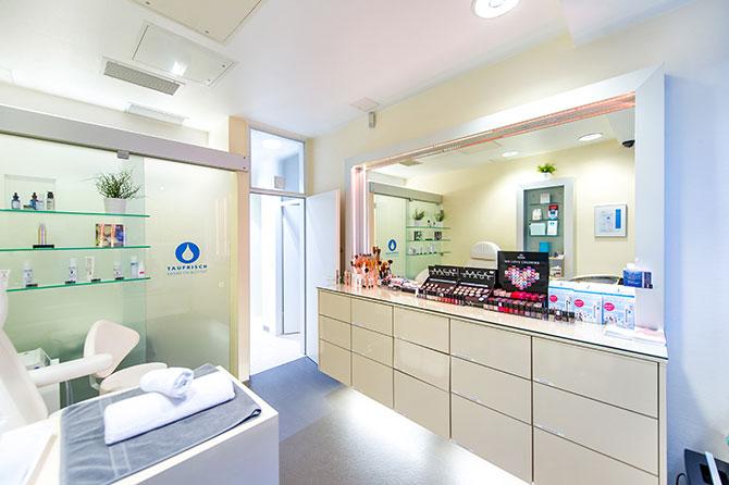 Ein Blick ins TAUFRISCH Kosmetikinstitut